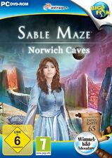SABLE MAZE * NORWICH CAVES * WIMMELBILD-SPIEL  PC DVD-ROM