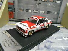 FORD Escort MKII RS 2000 #1 Macau Racing 1978 Heyer Marlbo Zakspeed Trofeu 1:43