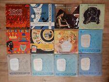 12 Supraphon Klassik Schallplatten / Hermann Scherchen, Otto Gerdes, V.Taglich