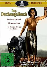 DSCHUNGELBUCH 1 + 2 + Elefantenjunge / SABU BOX remastered DVD Collection NEU