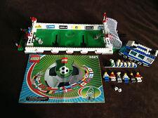 LEGO 3421 3406 Sports Soccer Fan Bus USA Football 3 vs 3 Shoot Minifigs Set Lot