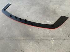 Lama anteriore sottoparaurti 500 595 abarth PVC   Front bumper blade ABARTH PVC