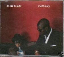 (P248) China Black, Emotions - 1997 DJ CD