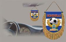 HONDURAS SOCCER FLAG CAR MINI BANNER, PENNANT