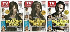 2014 TV Guide The Walking Dead 3 Cover Set Daryl Michonne Rick IN HAND!
