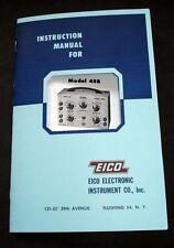 EICO Model 488 Electronic Switch  Instruction Manual