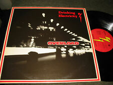 Drinking Electricity Overload survival lp '82 nm vinyl! min synth cold wave rare