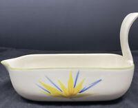 Rare vintage  Winfield Pottery Ceramic Gravy Boat Modern Mid Century