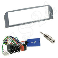 Sony CAN-Bus Lenkradinterface+Alfa Romeo 147 GT Typ937 Radioblende anthrazit Set