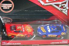 "DISNEY PIXAR CARS 3 ""CARS 3 LIGHTNING McQUEEN & FABULOUS LIGHTNING McQUEEN"""