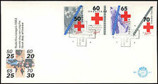 Red Cross First Day Cover Stamps
