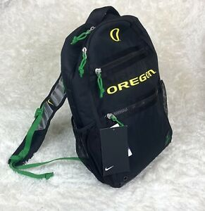 Nike Oregon Ducks College Black Green Backpack Utility Heat Brand New with Tags