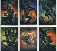 Arrow Season One Comic Book Covers Complete 6 Foil Card Chase Set CCC1-CCC6