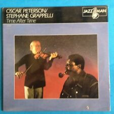 Oscar Peterson/Stephane Grappelli-Time After Time-1981 Jazz Man- RE M-/M  SEALED