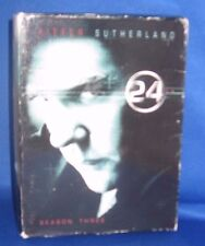 THE COMPLETE THIRD SEASON 24  DVD USED ACTION TV SHOW SERIES KIEFER SUTHERLAND