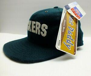 GREEN BAY PACKERS 90s Cap American Needle Vintage (Mac Daddy !!) Hat NFL