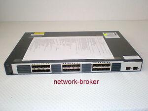 Cisco Catalyst WS-C3750V2-24FS-S mit Funktionsprotokoll