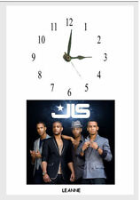 JLS Wall clock  Great gift  personalised free of charge