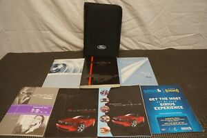2011 FORD MUSTANG OWNERS MANUAL WITH CASE AND LITERATURE FREE SHIPPING