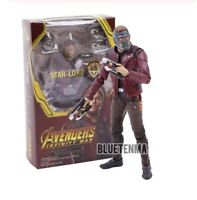 Star Lord Marvel Avengers Infinity War Guardians of Galaxy Action Figure Toys
