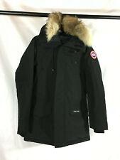 NWT Canada Goose Men's Langford Black Parka Coat Size S Authentic Fusion Fit