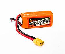 ORANGE 1500mAh 3S 30C (11.1 v) Lithium Polymer Battery Pack (LiPo)
