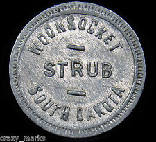 Woonsocket, South Dakota  STRUB  Good for 10 Cents in Merch TOKEN COIN #MD353