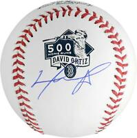 David Ortiz Boston Red Sox Signed 500th Home Run Logo Baseball - Fanatics