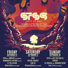"STS9 ""LIVE AT RED ROCKS CELEBRATION OF 20 YEARS"" 2017 DENVER CONCERT TOUR POSTER"