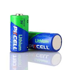 2x Li-MnO2 Batteries CR123A 123 DL123 CR17345 1500mAh 3V Camera Battery EXP2027