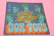 "SOLO COPERTINA BOX TOPS 7"" NEON RAINBOW ORIG ITALY 1967 EX !!!!!!!!!!!!!"