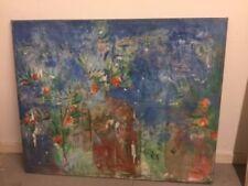 Blue Floral Original Art Paintings