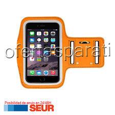 """Brazalete Deportivo Funda Neopreno Naranja para Iphone 6 Plus / 6S Plus 5.5"""" 6+"""