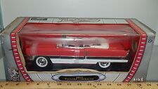 1/18 YATMING/ROAD SIGNATURE 1955 PACKARD CARIBBEAN CINNAMON RED, GREY & WHITE bd