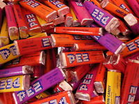 PEZ Candy Refills in Bulk  1 Pound (453g) 5 Fruit Flavors  About 50 refills NEW