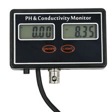 For Aquarium Water Quality Tester Conductivity Monitor PH EC Digital Display