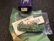 RARE Camillus CUDA Cyber CY1 Circuit Board Knife NOS! ATS 34 Pocket Retired USA