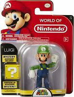 World of Nintendo – Super Mario – Luigi – Figurine Articulée 10 cm - RARE - NEUF
