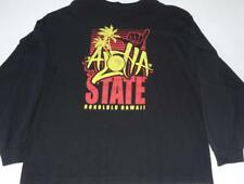 eVintage Town And Country Surf Designs Hawaii Aloha State 2XL Long Sleeve Tshirt