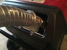 "Honda EU3000is Inverter Generator 1-1/2"" QD steel exhaust extension (2 foot)"