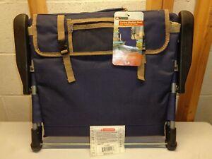 OZARK TRAIL Folding Stadium Seat With Pockets~New!