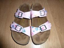 Birkenstock Papillio Pink Floral design Sandals Slides EUR 38 US L8 M6