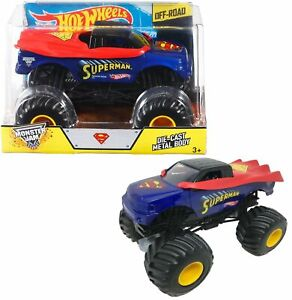 Hot Wheels Monster Jam Superman Off-Road 1:24 Scale Diecast Car