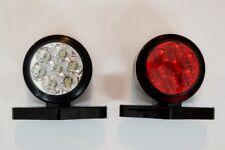 2x 12V Red White LED Side Outline Marker Lights for Truck Lorry Bus Camper Van