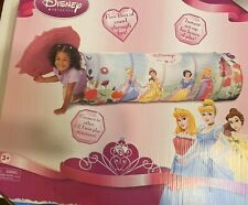 Playhut Disney Princess Tunnel Over 5 Foot Long!connect To Other Ez Twist Play