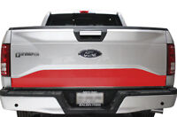 Custom Vinyl Graphics Wrap Kit for 15-17 Ford F-150 LOWER TAILGATE Decal 3M RED