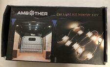 Ambother 10 LED Lamp 12v Car Light Interior Kit For LWB Van Trailer Trucks B5