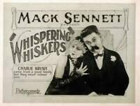 OLD MOVIE PHOTO Whispering Whiskers Us Lobby card, Madeline Herlock