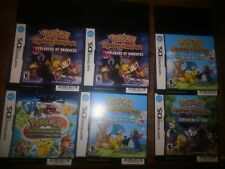Pokemon Mystery Dungeon. Ranger & Heart Gold/Soul Silver  Promotional materials