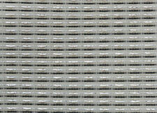 """Fender black white and silver strip 30x36"""" speaker grill cloth fabric  cabinet"""